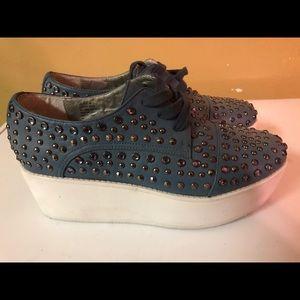 Steve Madden JJFLSH-R Platform  shoes size 9 M